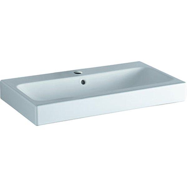 iCon Lavabo 75x48,5cm blanc, 124075, Coloris: Blanc, avec KeraTect - 124075600 - Keramag