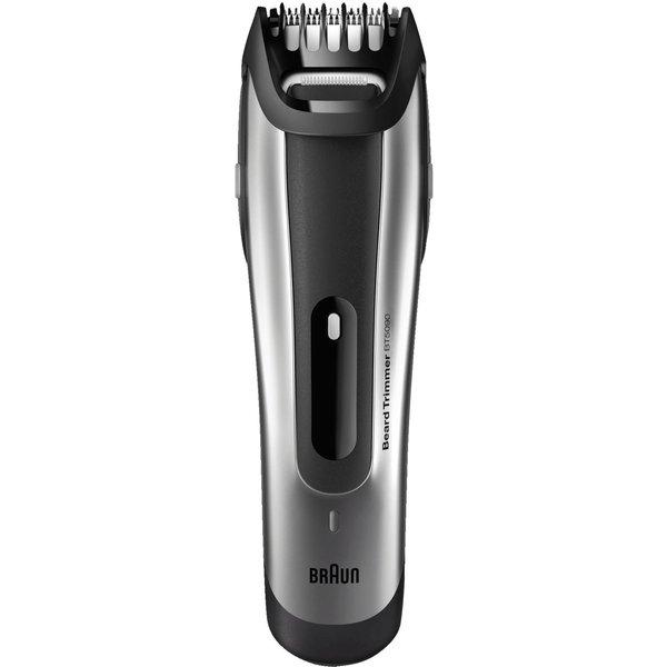 Tondeuse à barbe Braun BT5090 Noir et Argent
