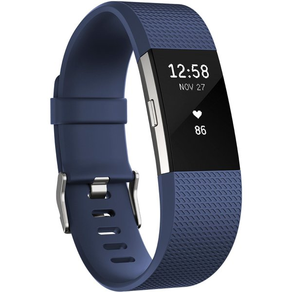 Unisex Fitbit Charge 2 Bluetooth Fitness Activity Tracker Watch