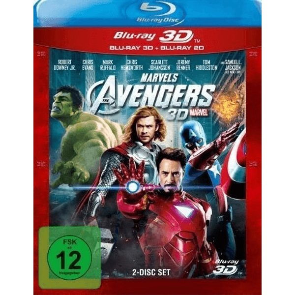 The Avengers 3D (2012) - (Blu-ray 3D (+2D))
