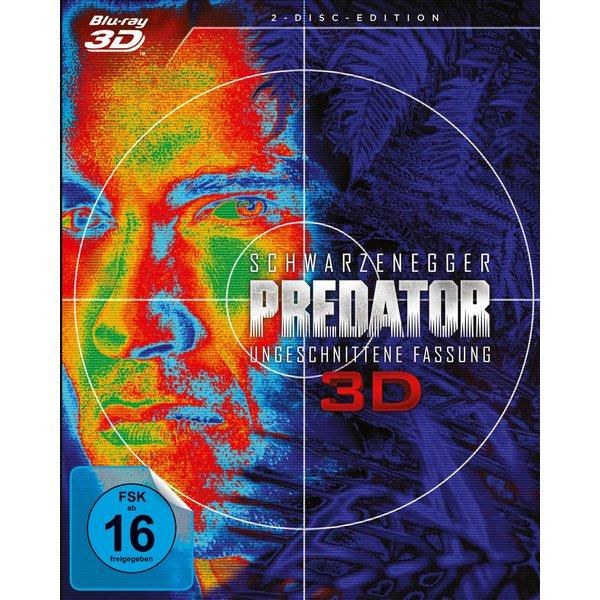 Predator 3D (1987) - (Blu-ray 3D & Blu-ray)