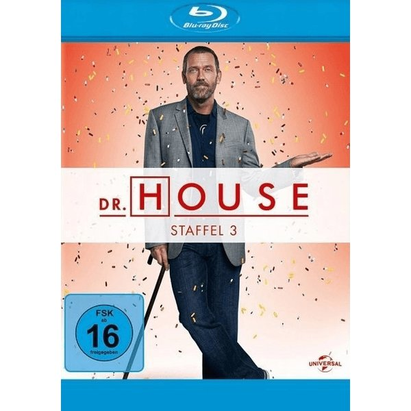 Dr. House - Staffel 3 (5 Blu-rays)