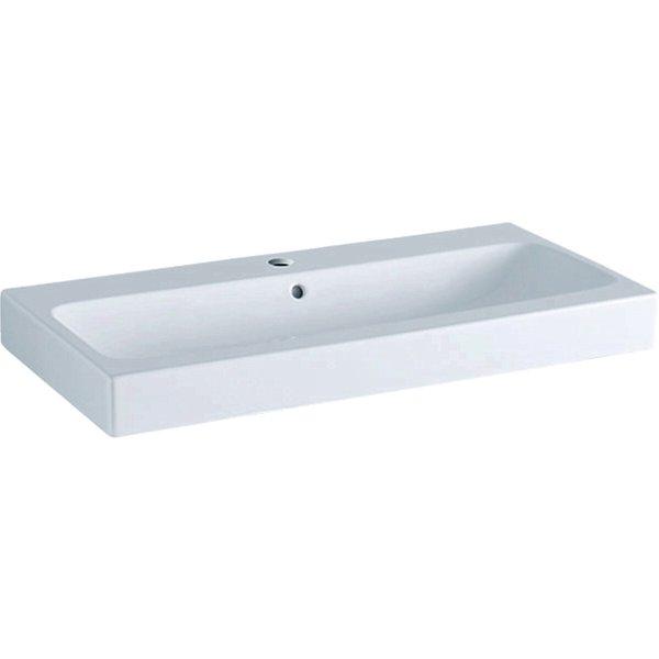 Keramag iCon lavabo 90x48,5cm blanc, 124090, Coloris: Blanc, avec KeraTect - 124090600