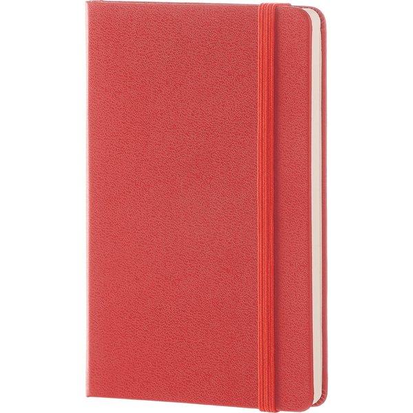 Moleskine Pocket Plain Notebook Red