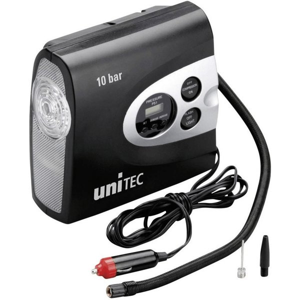 uniTEC KFZ-Kompressor , Profi, , max. Druck 10 bar