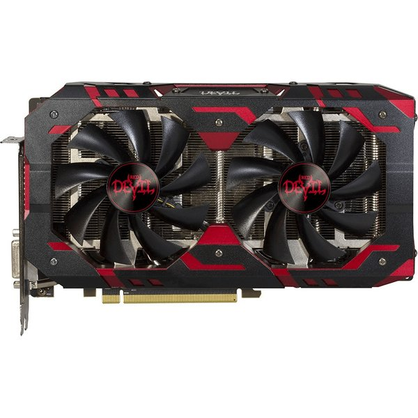 Powercolor radeon rx 580 red devil, 8192 mb gddr5