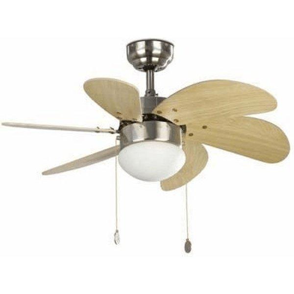PALAO Attractive Ceiling Fan, Matt Nickel