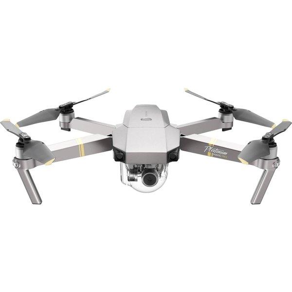 Drone 4K DJI Mavic Pro Fly More Combo Platinum