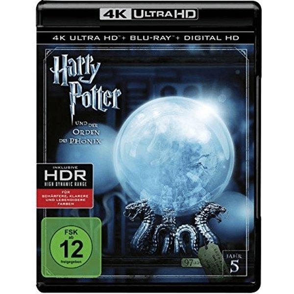Harry Potter und der Orden des Phönix (4K Ultra HD) [Blu-ray]