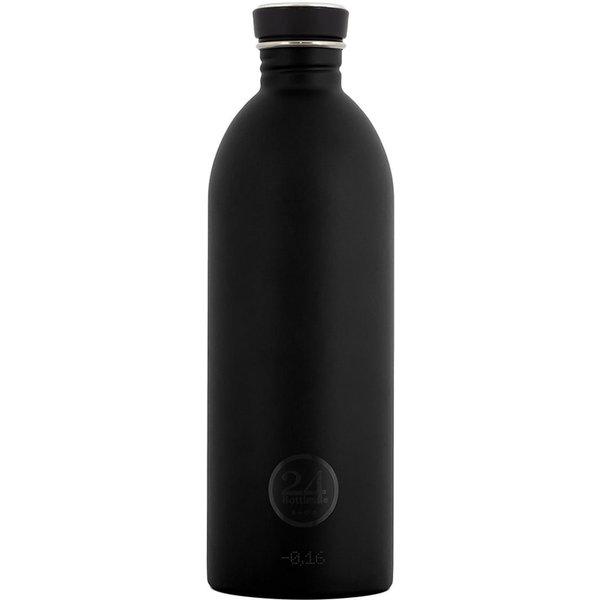 Trinkflasche, 24 Bottles, »Urban 1000 ml Black«