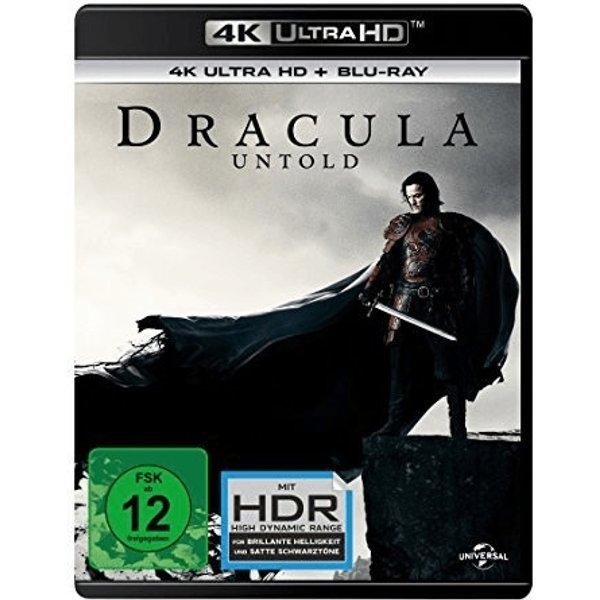 Dracula Untold 4K (2014) - (4K Ultra HD & Blu-ray)