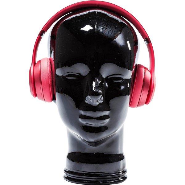 Tête Headphone noire Kare Design