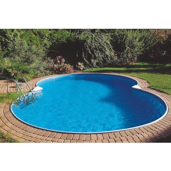 Schwimmbecken Calypso Achtform Ausführung:Tiefbeckenset