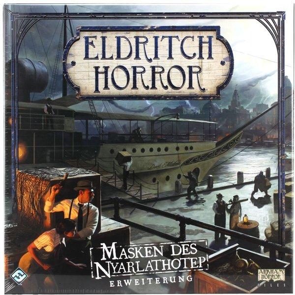 FFG Eldritch Horror - Masken des Nyarlathotep Erweiterung