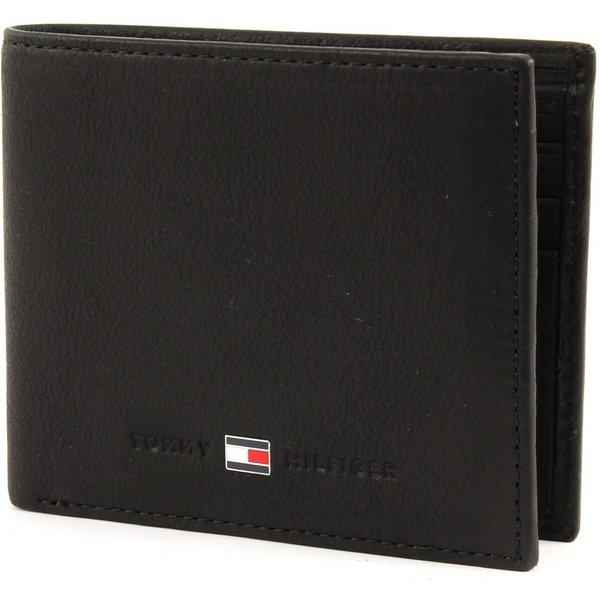 Tommy Hilfiger Johnson Suede Mini Wallet Black