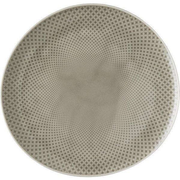 Rosenthal Junto Pearl Grey - Porcelain plate 27 cm