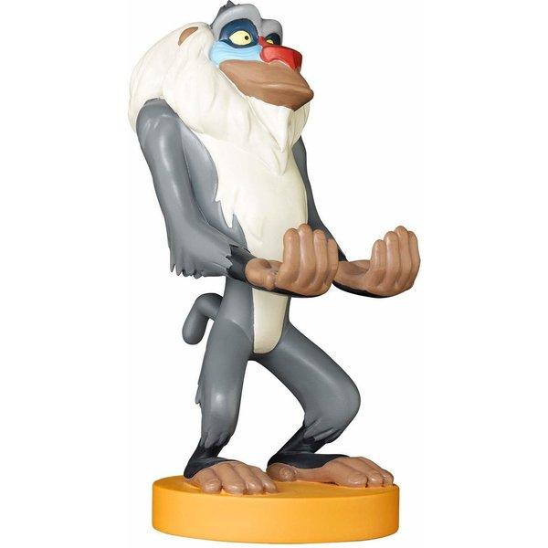 Figurine Rafiki Roi Lion Disney Cable Guys - Support Chargeur Smartphone et Manette