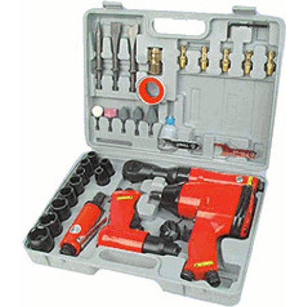 Ensemble d'outils pneumatiques de 33 pièces (15033)