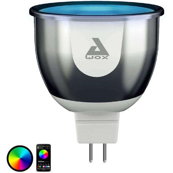 Ampoule LED connectée couleurs GU5,3 - AwoX