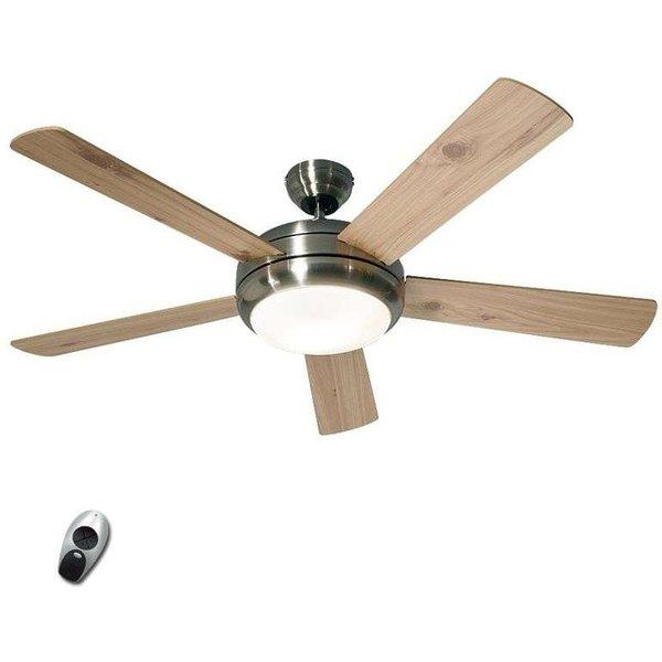 Ventilateur de plafond lumineux Titanium BN