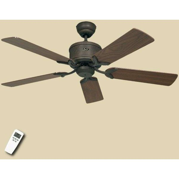 Ventilateur de plafond Eco Elements brun noisette