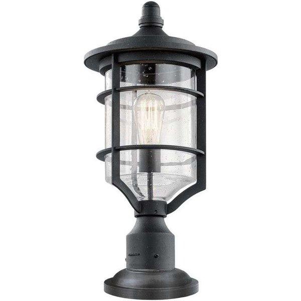 KL/ROYALMARIN3/M Royal Marine Medium Pedestal Light In Black