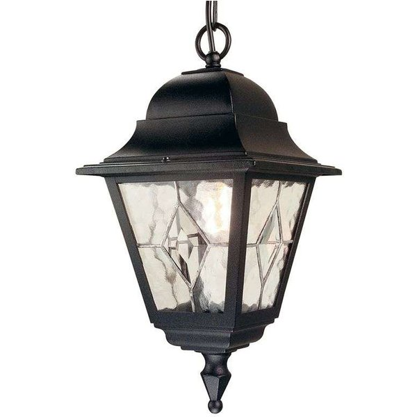 Elstead NR9 Norfolk period black exterior chain lantern, IP43