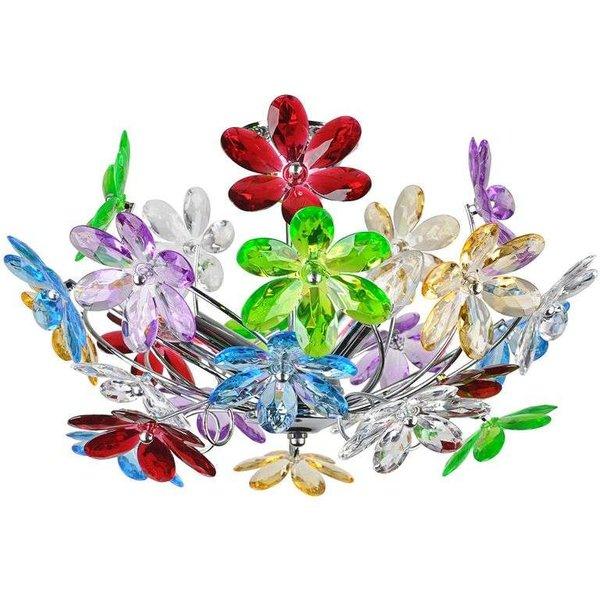 Deckenleuchte Flower mit bunten Blumen (9007371286560)