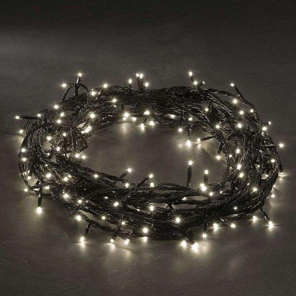 Micro-guirlande LED blanche chaude 80 lum. 10,5 m