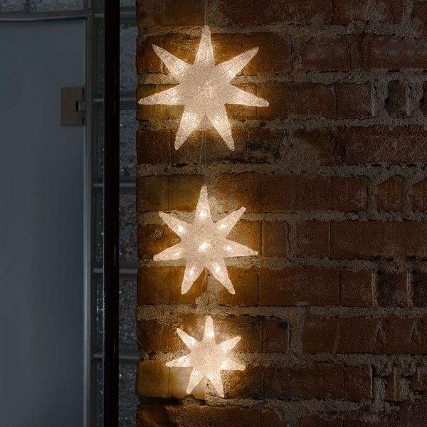 Jolie guirlande lumineuse LED étoile (6136-103)