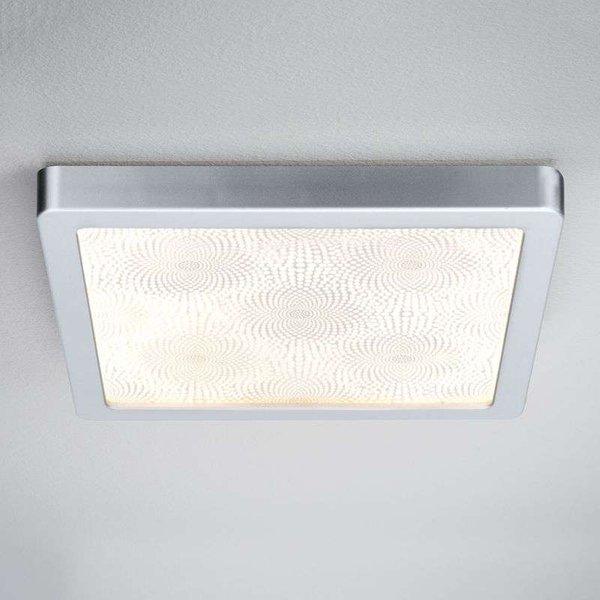 Plafonnier LED de salle de bain carré Ivy, 14 W