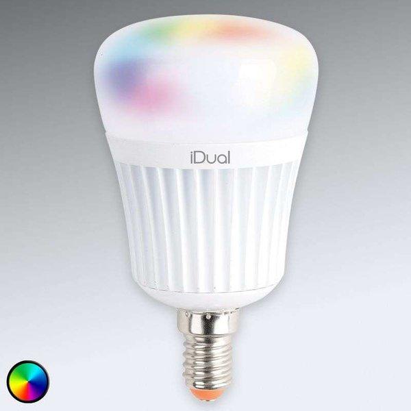 Ampoule LED E14 iDual 7 W RVB sans télécommande
