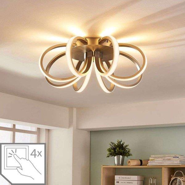 Vada blossom-like LED ceiling light