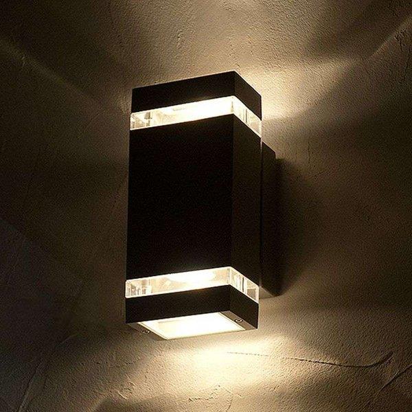 Applique d'extérieur LED FOCUS parallélépipédique