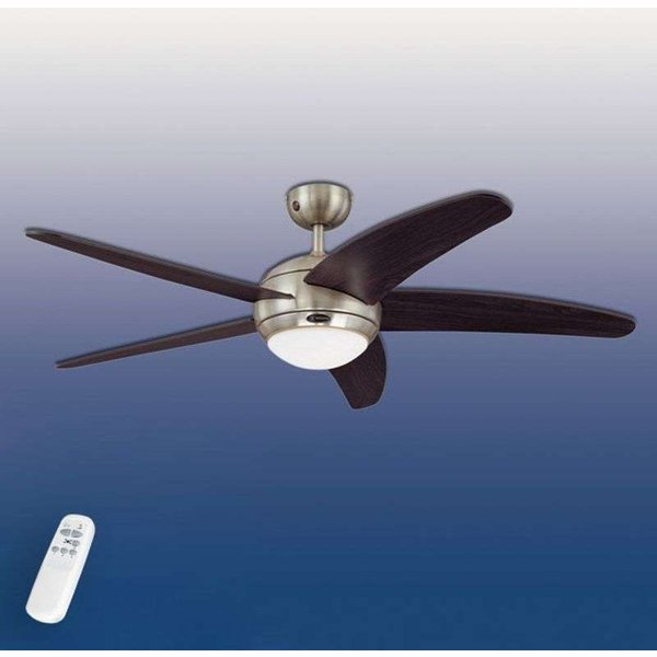 Bedan ceiling fan with remote control (72557)
