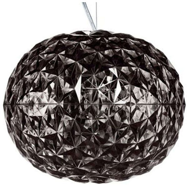 Planet Pendant - LED - Ø 33 cm by Kartell Smoked grey