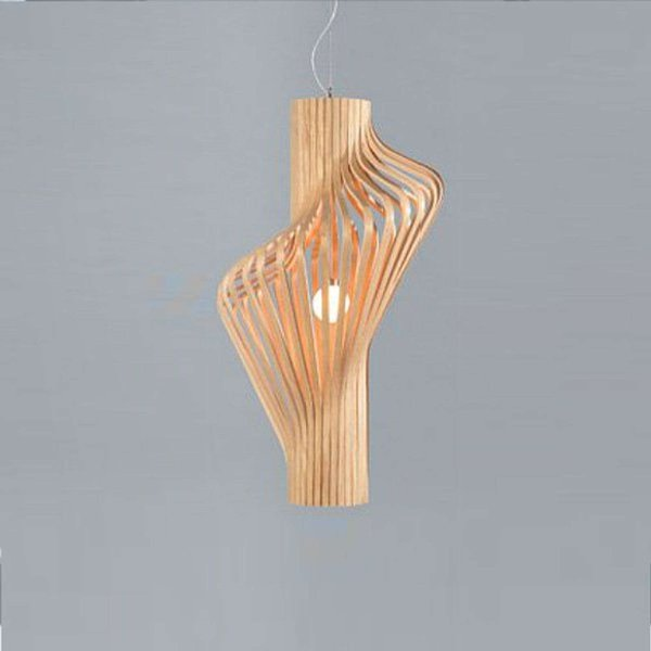Suspension Diva H 80 cm - Northern bois clair en bois