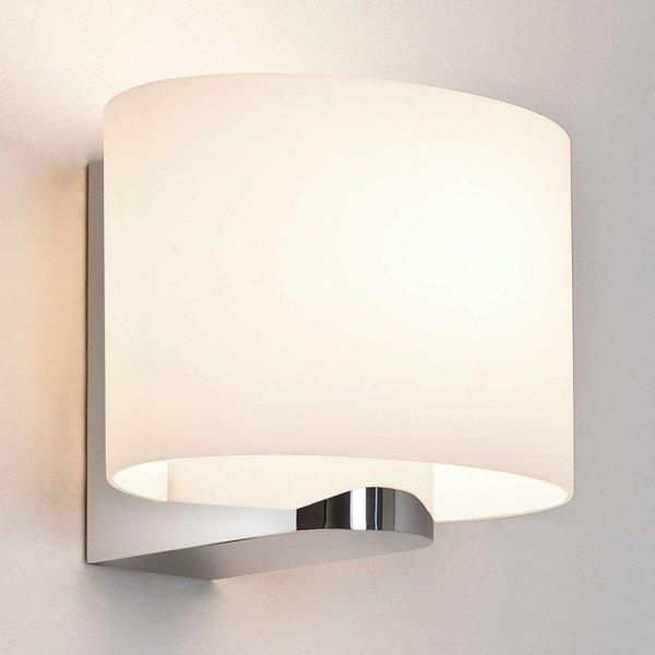Astro 1149002 Siena Oval Bathroom Wall Light, IP44