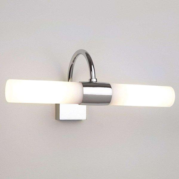 Astro 1044001 Dayton Modern Chrome Bathroom Wall Light, IP44