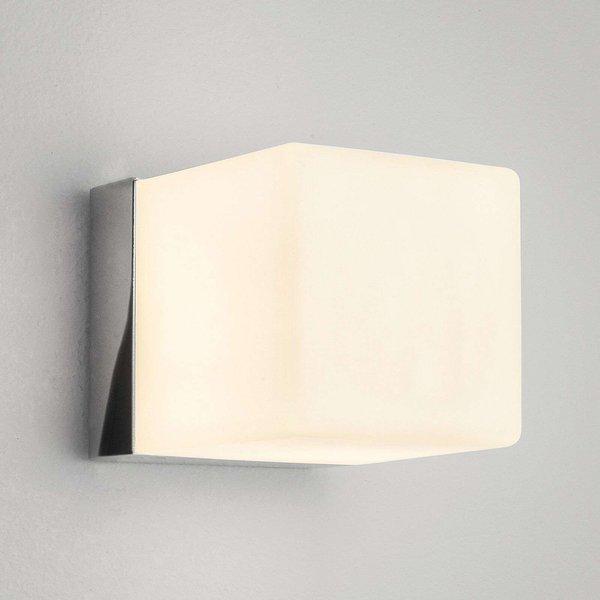 Astro 1140001 Cube Halogen Bathroom Wall Light, IP44