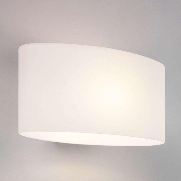 Astro 1089001 Tokyo Modern White Glass Wall Uplighter Light