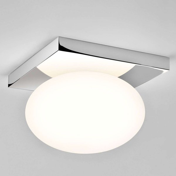 Astro 1291001 Castiro Polished Chrome Flush Ceiling Light