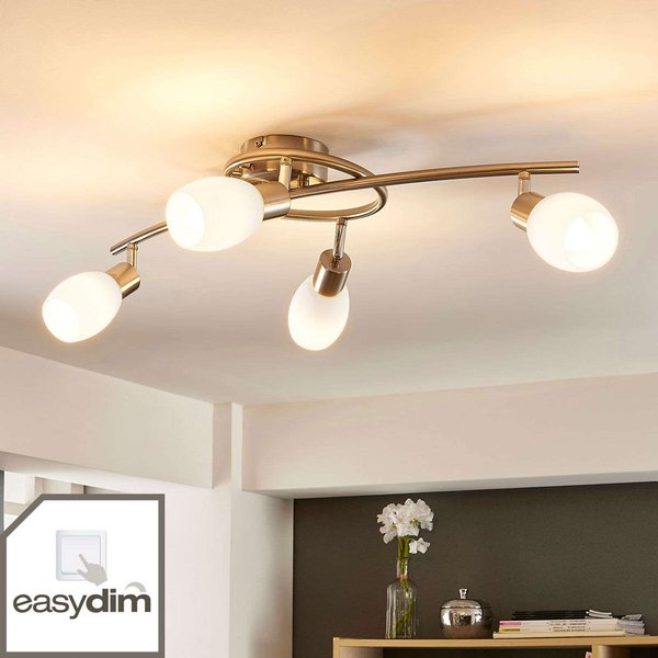 LED-Deckenlampe Arda, easydim 4-flammig 65cm