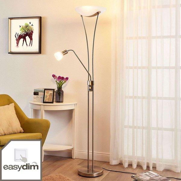 Felicia - zeitloser LED-Deckenfluter, dimmbar