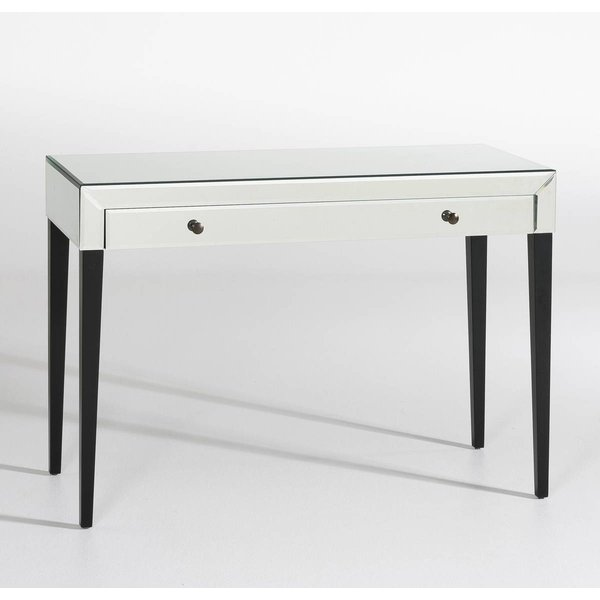 4. CLIMENE Glass Mirror Console Table: £319, La Redoute