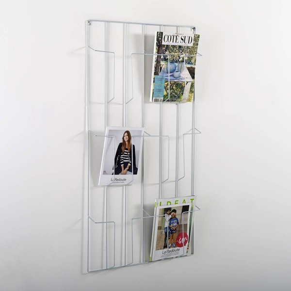 1. Niouz Wall-Mounted Magazine Rack: £54, La Redoute