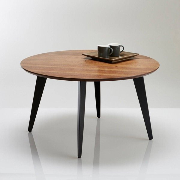 15. Watford Circular Vintage Coffee Table, Walnut: £249, La Redoute