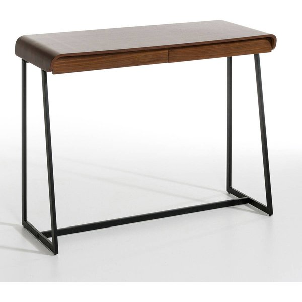 2. Bardi Console Table, designed by E. Gallina, walnut with black feet: £376, La Redoute