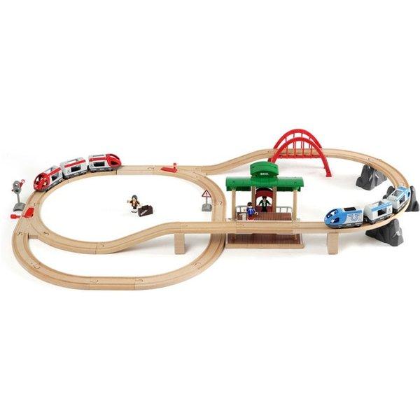 Eisenbahn, Brio, »Reisezug Set« (MAP2-38054101)