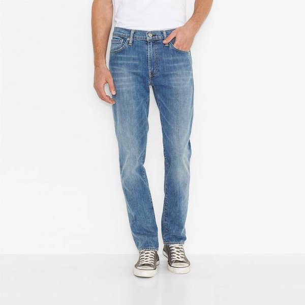 Levis 514 Cord Jeans (Straight) - Carbon Ink Black